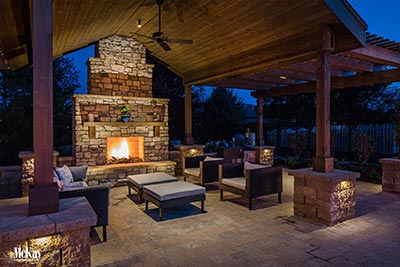 Patio Pergola Lighting Omaha Nebraska