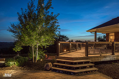 deck lighting Omaha Nebraska