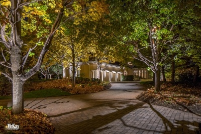 Driveway Lighting - Landscape Lighting Company Omaha Nebraska