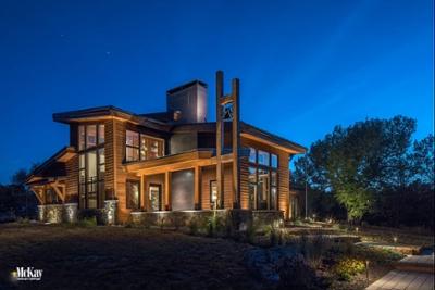 Architectural Outdoor Lighting Omaha Nebraska McKay Landscape Lighting H 01-1