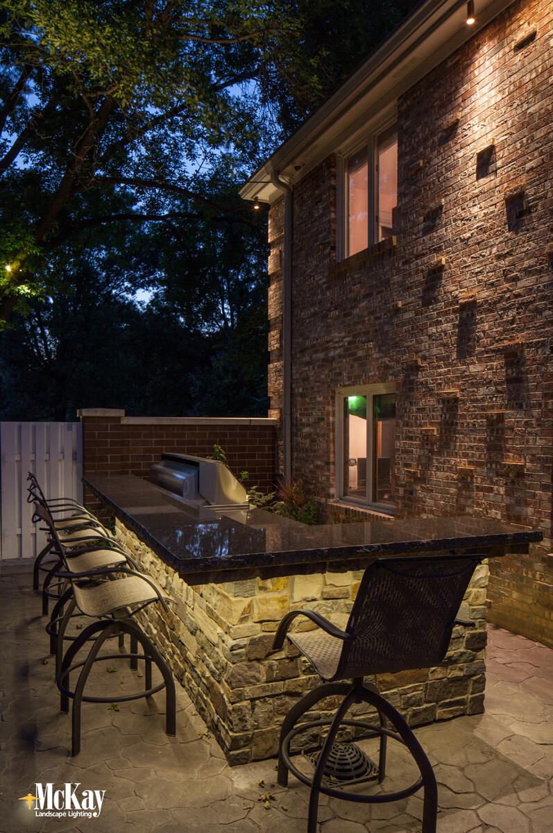 Uncategorized Outdoor Kitchen Lighting outdoor kitchen series part one led tape light lighting omaha nebraska