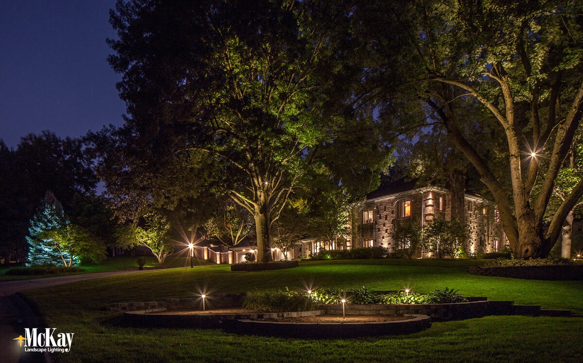 While it may seem as though a lightbulb is a lightbulb, there are a few factors to take into consideration before swapping out your halogen landscape lighting bulbs with LED.  Click to learn more... | McKay Landscape Lighting - Omaha, Nebraska