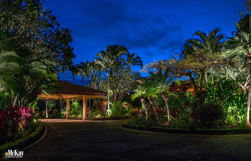 Project Spotlight - Maui Outdoor Lighting Design - McKay Landscape Lighting