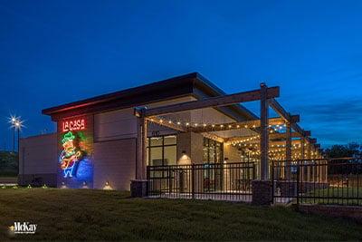 Outdoor Patio Bistro Lights Omaha Nebraska