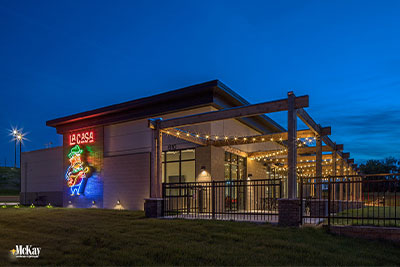 outdoor patio restaurant lighting omaha nebraska