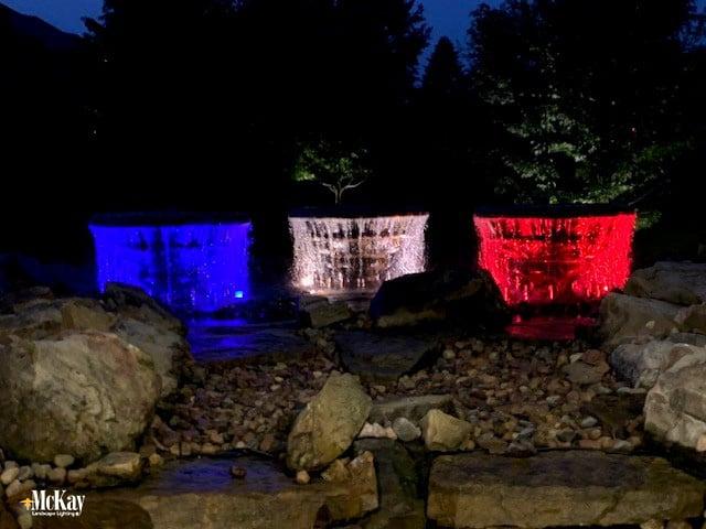 Color changing options for your landscape lighting design. Click to learn more. McKay Landscape Lighting Omaha Nebraska