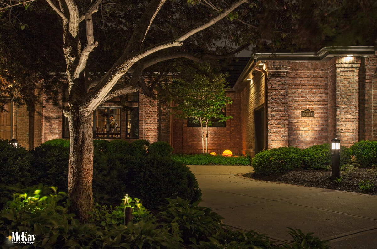 Residential Security Lighting Omaha NE McKay Landscape Lighting LE33.jpg