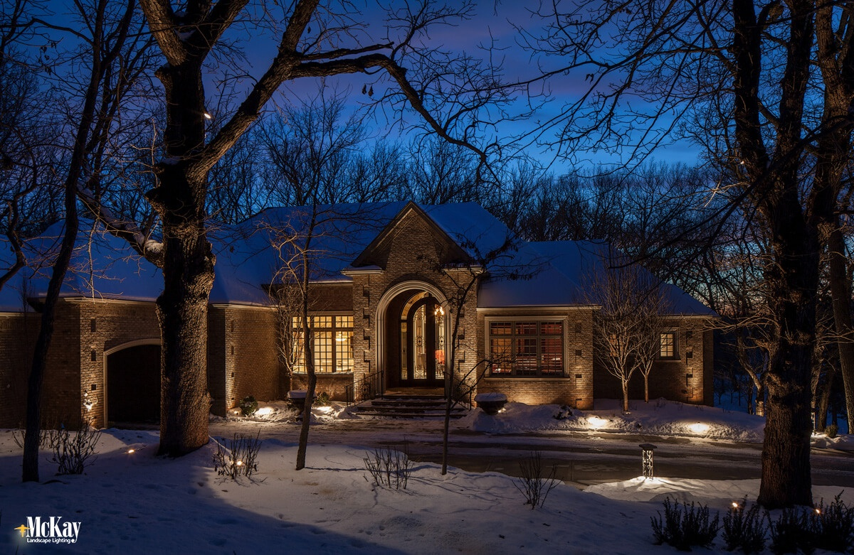 Benefits of Outdoor Lighting - Provides Year-Round Enjoyment. Click to learn more... | McKay Landscape Lighting Omaha Nebraska