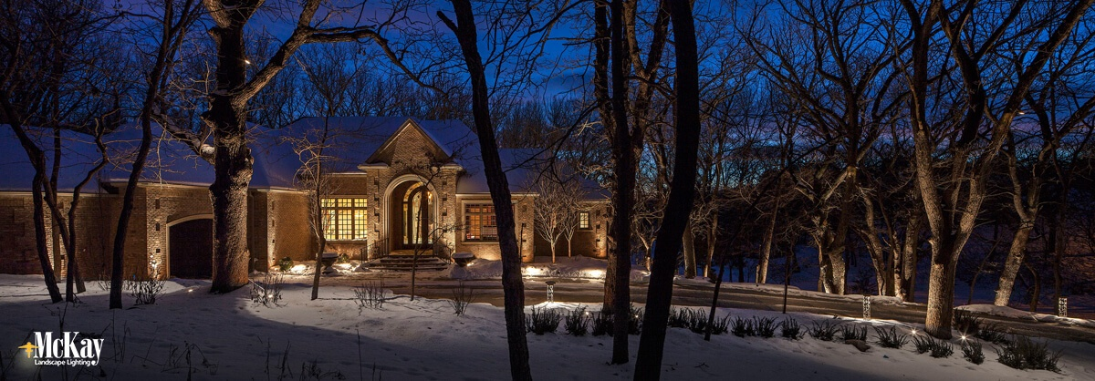 Home Security Lighting Tips Omaha Nebraska McKay Landscape Lighting