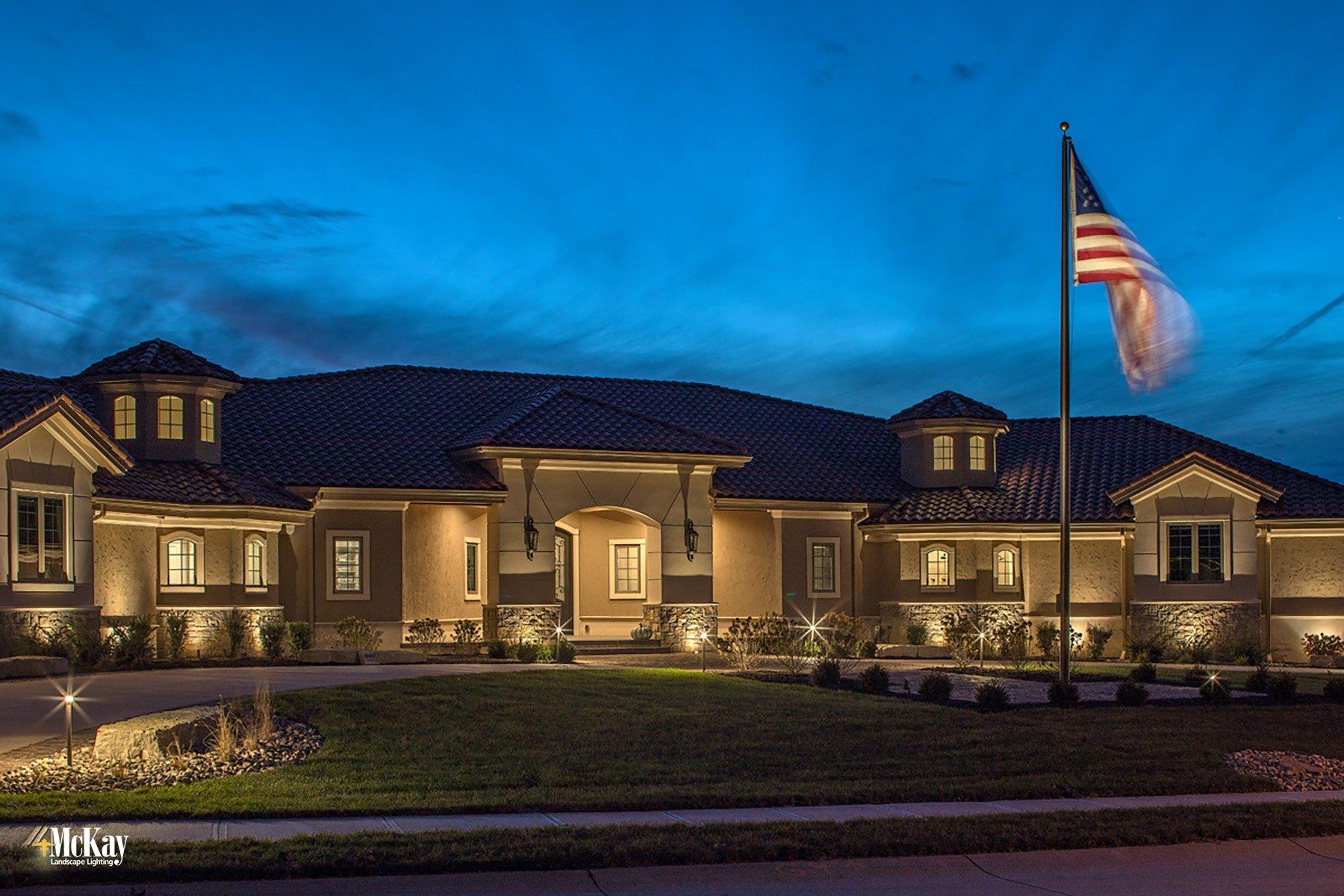 Residential Landscape Lighting Omaha Nebraska McKay Lighting IC 10