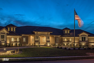 Residential Landscape Lighting Omaha Nebraska McKay Lighting IC 10