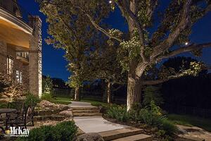 Down lighting omaha nebraska - mckay landscape lighting