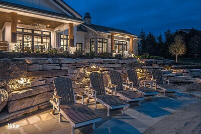 Lake House Outdoor Lighting Design Ideas Bluewater Lake Valley Nebraska McKay Landscape Lighting N ex 12