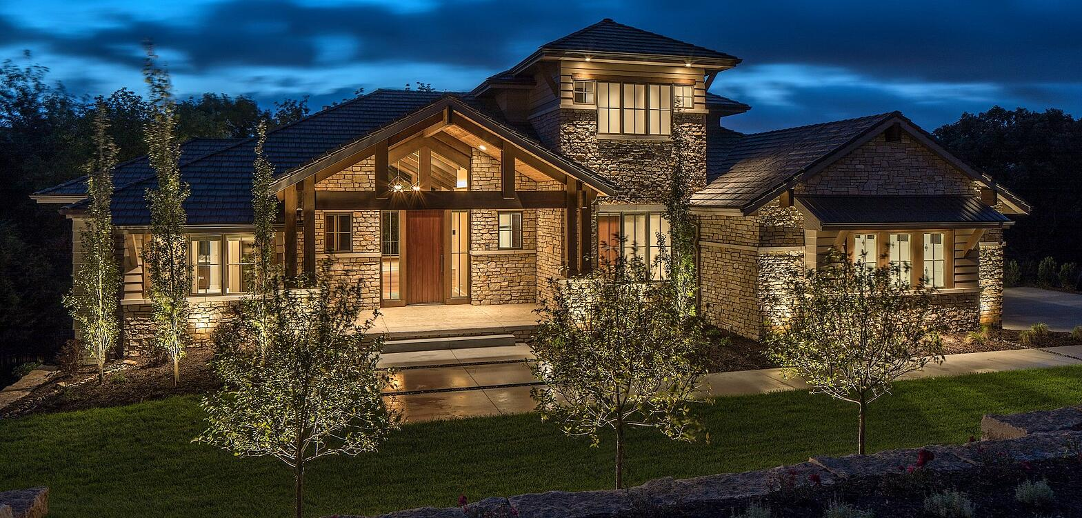Residential Landscape Lighting Omaha