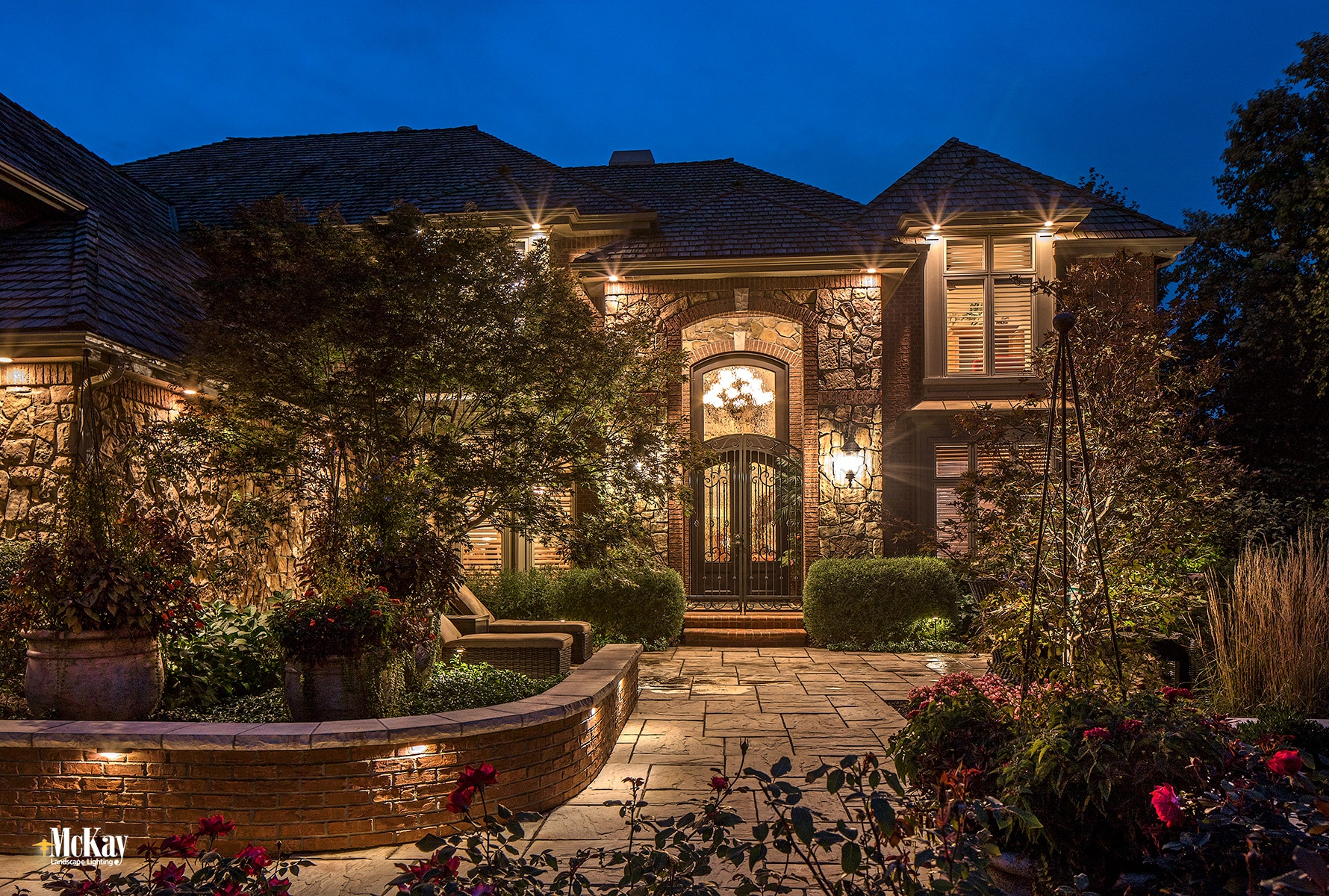 What's the best material for outdoor lighting fixtures? Learn more about the different types and what we recommend.  |  McKay Landscape Lighting - Omaha, Nebraska