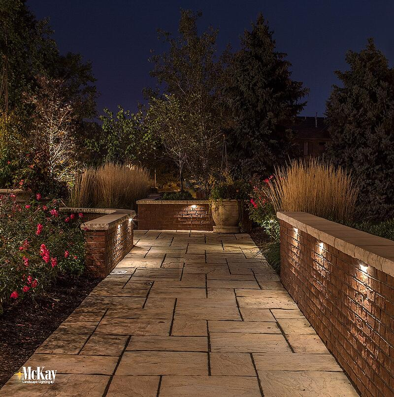 If the path leading to your home has a wall or similar structure, wall lighting is a unique way to illuminate it.  Click to read more about wall lighting...   McKay Lighting Omaha Nebraska