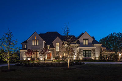 Resentential Landscape Lighting Omaha Nebraska