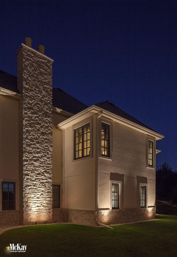Residential outdoor security lighting keeping your home safe at night residential architectural security lighting omaha nebraska aloadofball Choice Image