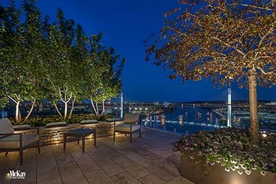 Outdoor Patio Lighting Omaha Nebraska | McKay Landscape Lighting