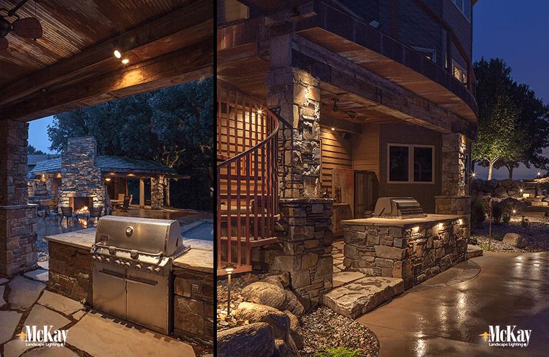 Friday favorites outdoor kitchen lighting for Outdoor kitchen omaha