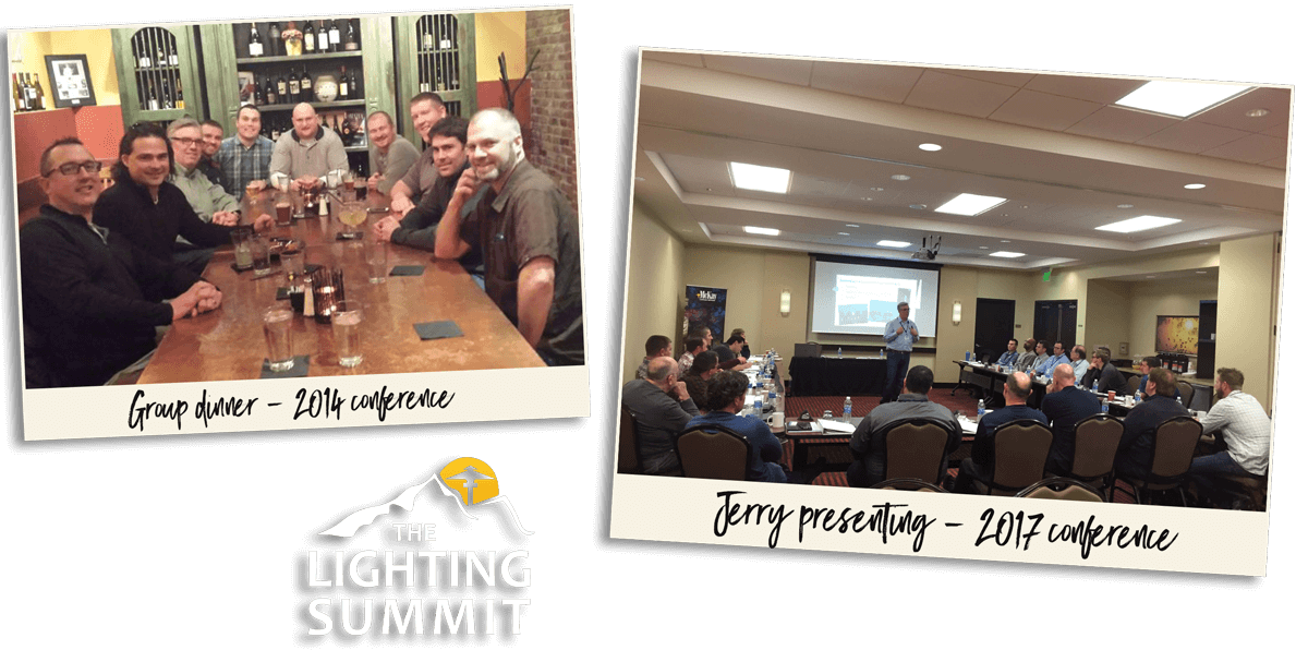 Jerry founded and hosted The Lighting Summit in 2014, an annual two-day event geared towards helping lighting professionals grow their business, meet other like-minded business owners, and share ideas and best practices. Click to learn more about McKay Landscpae Lighting.