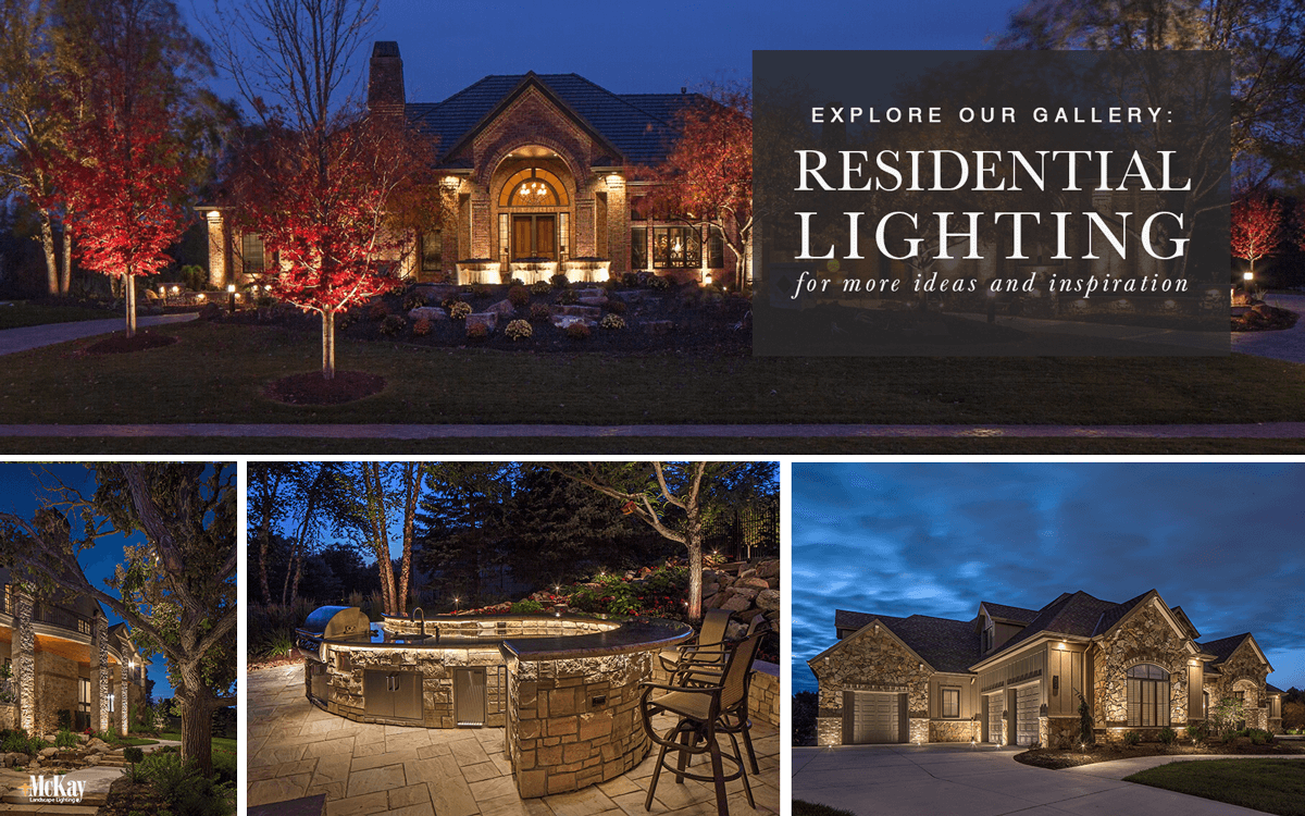 Residential Outdoor and Landscape Lighting Home Ideas - Browse Our Photos for Inspiration | McKay Landscape Lighting Omaha Nebraska
