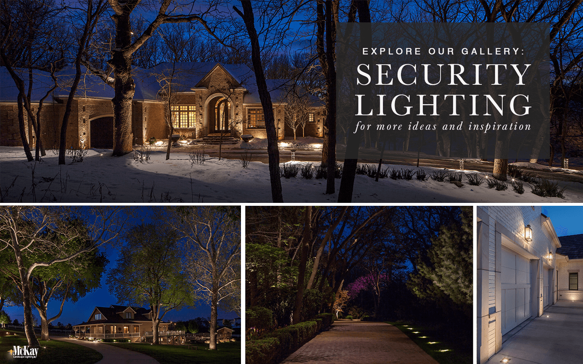 Outdoor Security Lighting Ideas - Browse Our Photos for Inspiration | McKay Landscape Lighting Omaha Nebraska