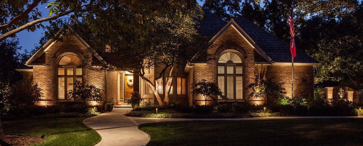 Delightful Residential Landscape Lighting Omaha Nebraska