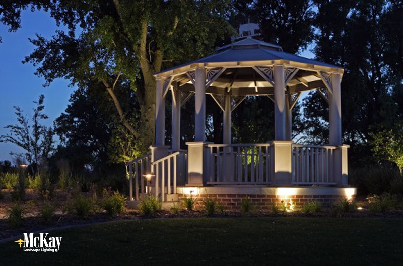 Outdoor Gazebo Lighting - Unique Outdoor Lighting Ideas: Gazebo Lighting