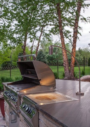 As We Continue Our Outdoor Kitchen Lighting Series, We Move On To McKayu0027s  Unique Grill Lighting. One Of The Most Important Aspects Of An Outdoor  Kitchen Is ...
