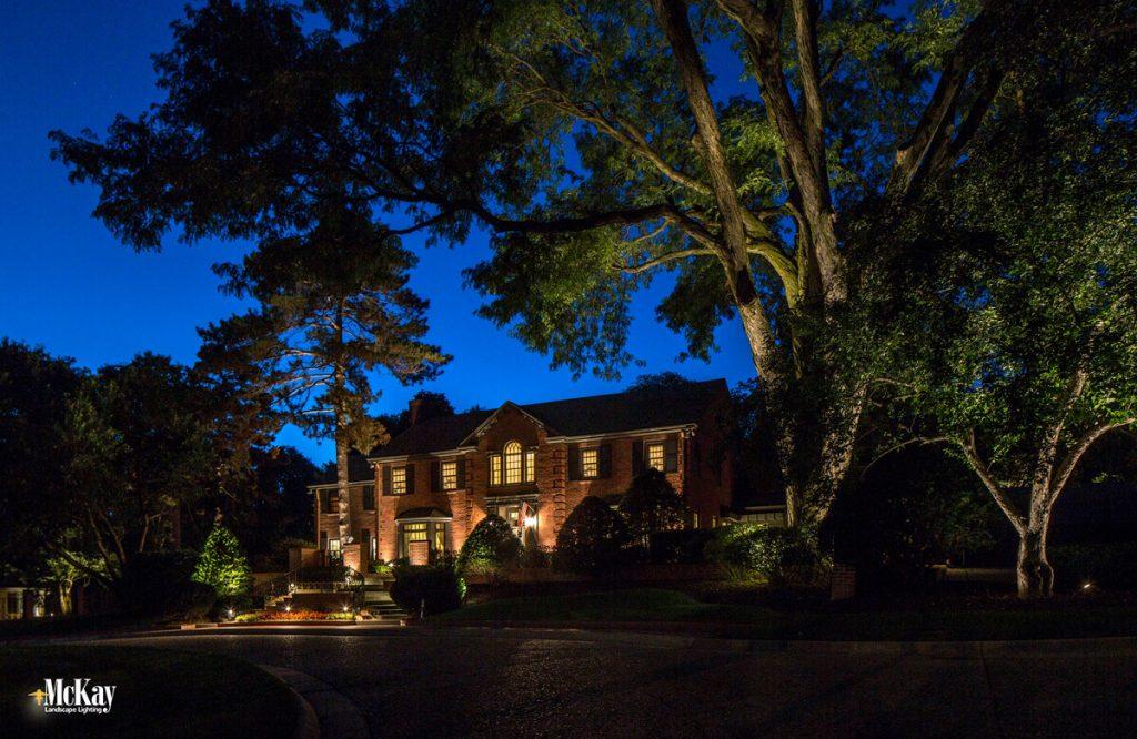 Landscape Lighting Project Spotlight Historic Omaha Residence & Outdoor Lighting Blog | McKay Landscape Lighting - Part 5 | Path ...