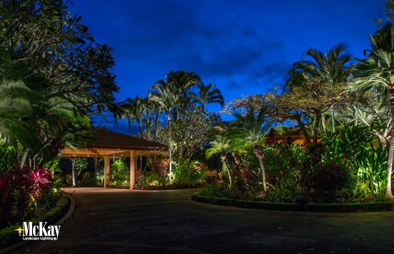 Project spotlight tropical outdoor lighting in maui workwithnaturefo