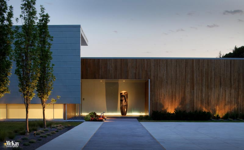 Residential Architectural Landscape Lighting Omaha Mckay