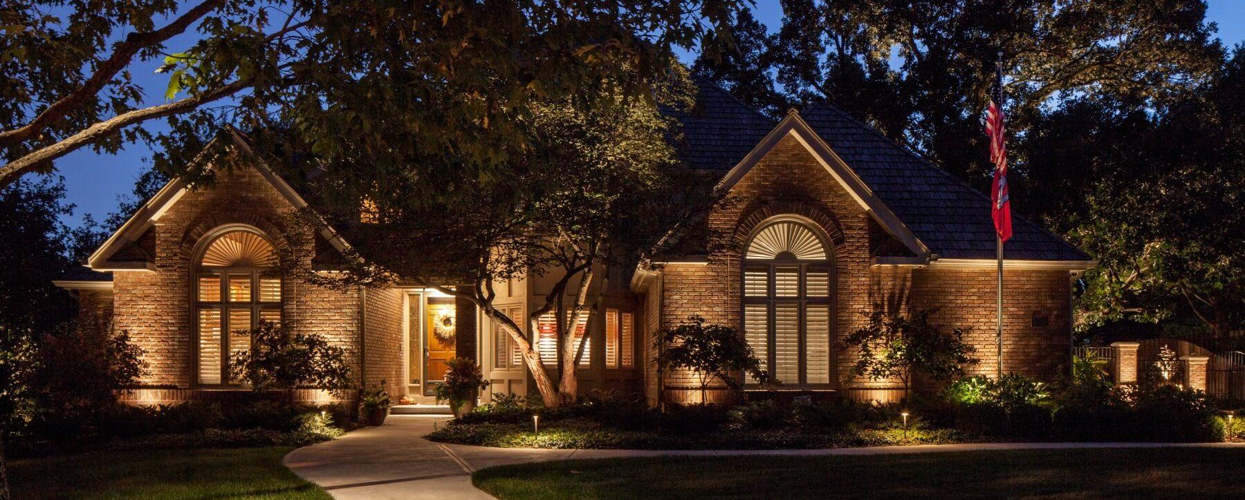 Residential Landscape Lighting Omaha NEMcKay Landscape Lighting   Omaha Nebraska. Residential Outdoor Landscape Lighting. Home Design Ideas