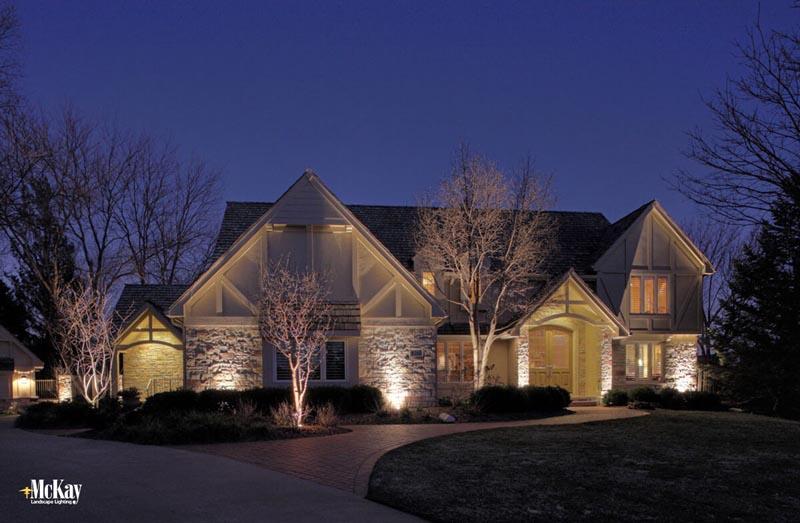 Residential Landscape Lighting Omaha NE McKay Landscape Lighting & Traditional Stone Patio | McKay Landscape Lighting azcodes.com