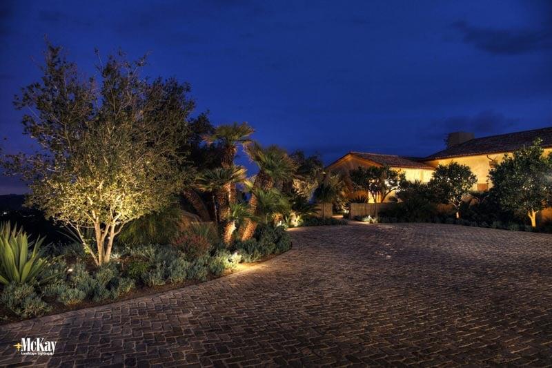 santa barbara lighting loma residential outdoor landscape lighting santa barbara mckay