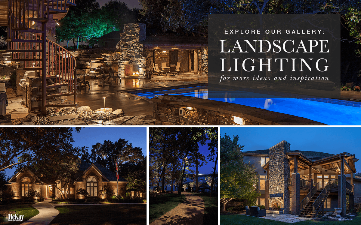 Outdoor and Landscape Lighting Ideas - Browse Our Photos for Inspiration | McKay Landscape Lighting Omaha Nebraska